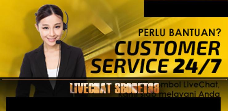 bantuan member sbobet dari layanan live chat
