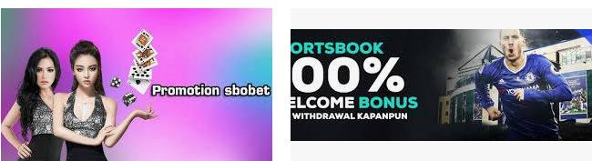 banyak yang tertarik dengan promosi sbobet yang menggiurkan