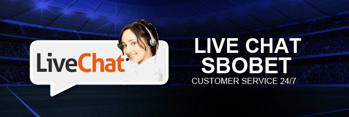 fitur live chat yang baik untuk member sbobet